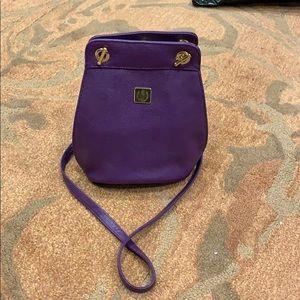 Leather crossbody bag!